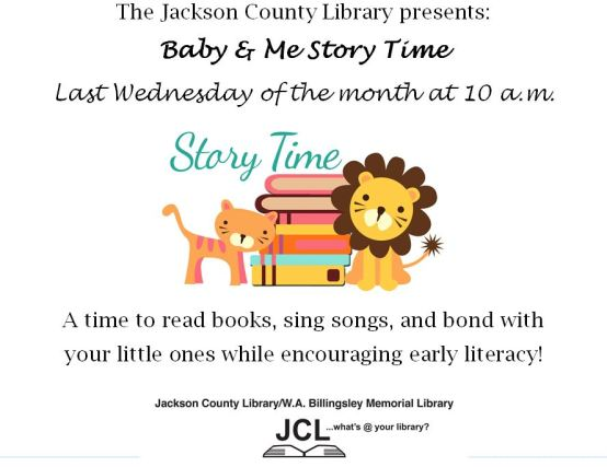 Baby storytime color